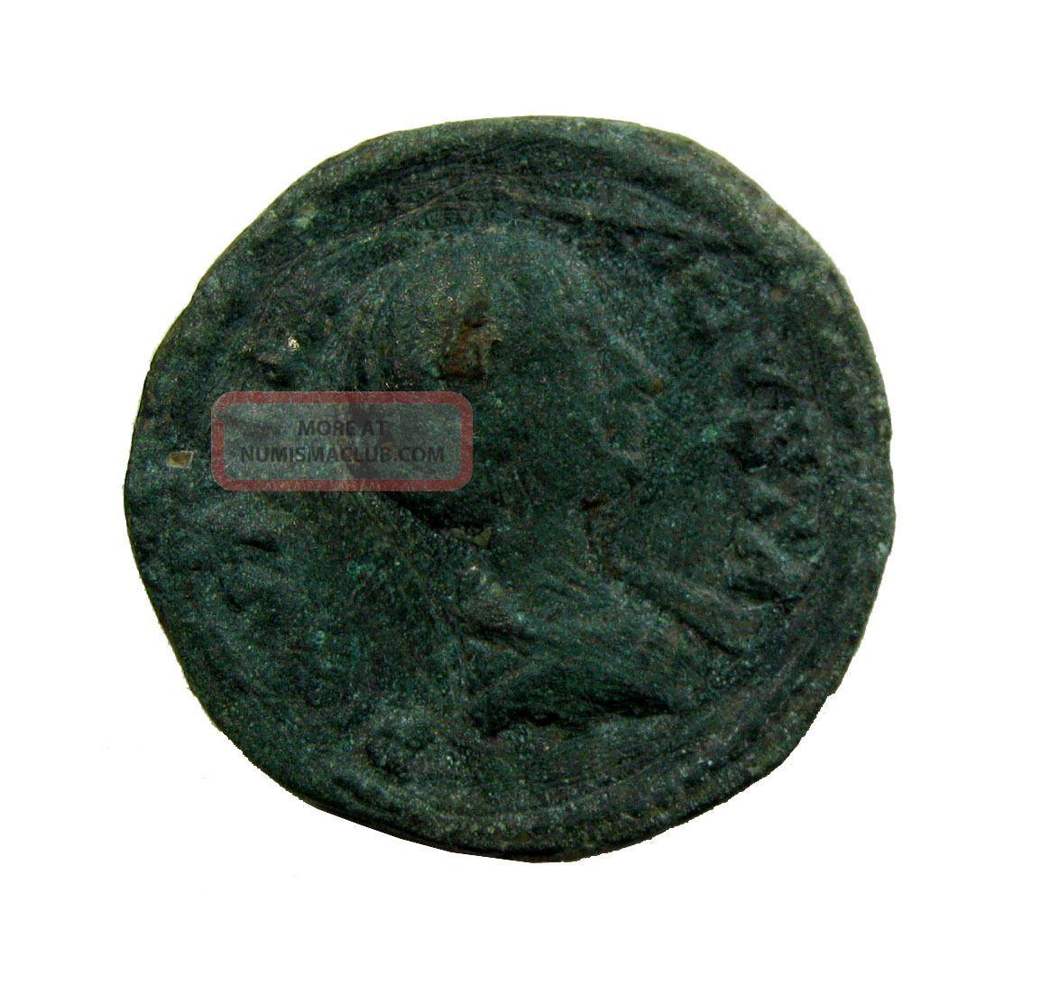 Julia Augusta 14 - 29 Ae Denarius 2.  85g/18mm M - 781 Coins: Ancient photo