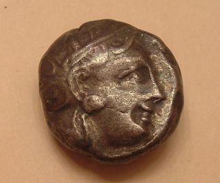 Athens,  Greece Silver Tetradrachm Circa 440 Bc photo