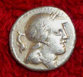 Roman Silver Denarius - Republican Period - 1 Century Bc (438) photo