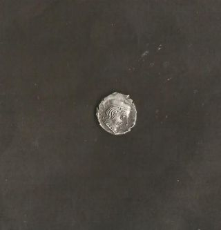 Ancient India Western Kshatrapa Silver Drachama Coin Very Rare. photo