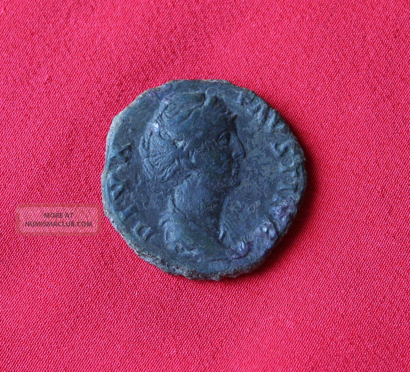 Faustina Sr Ae As. Coins: Ancient photo