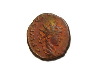 Ancient Roman Tetricus Ii 270 - 273 Ad Antoninianus Sacrificial Implements Xf photo