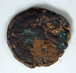 Coin Byzantium Follis Justin I.  Constantinople 518 - 527 Ad Bc 9 - 16 photo