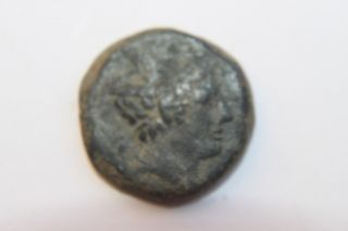 Ancient Roman Republic Bronze Coin 2nd Century Bc photo