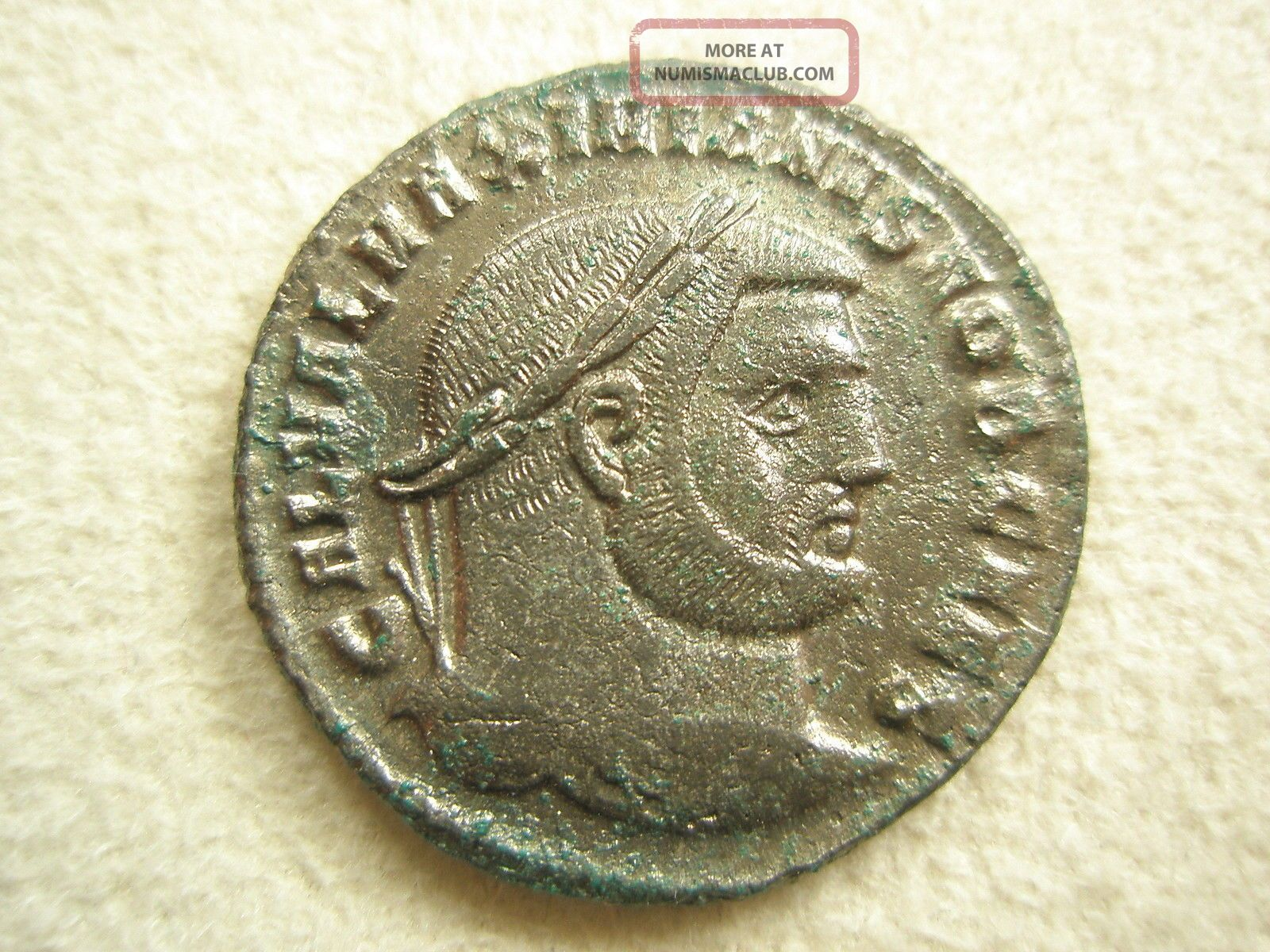 Ancient Rome Large Follis Galerius Genio Heraclea Xf S38 Coins: Ancient photo