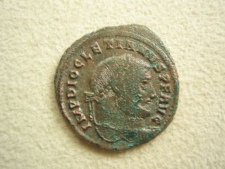 Ancient Rome Large Follis Diocletian Moneta Siscia Xf S18 photo