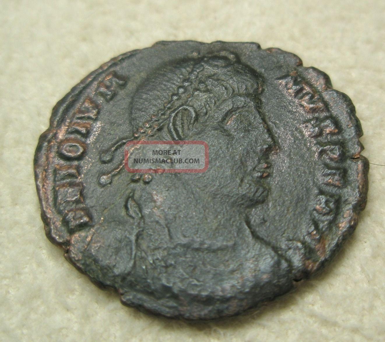 Ancient Rome Jovian Ae3 Centennionalis Vot Siscia Fine Scarce A 4 Coins: Ancient photo