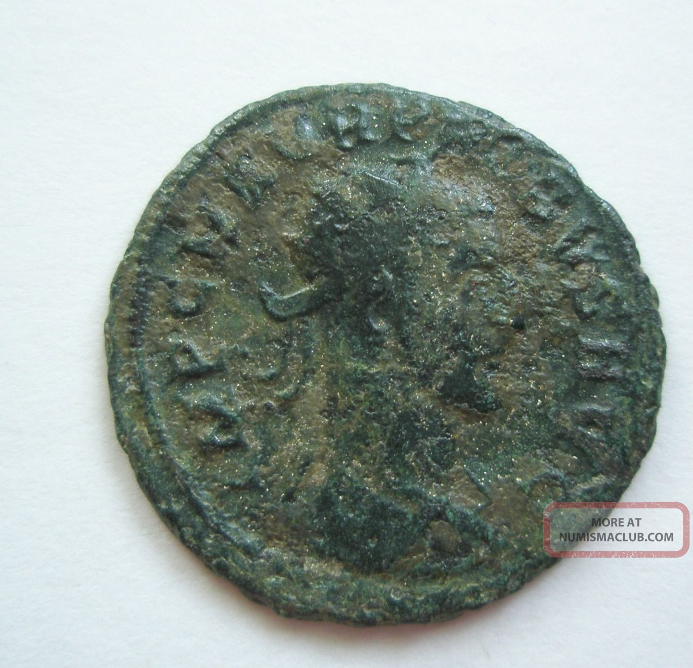 Ancient Rome Antoninianus Probus Clementia Jupiter Green Patina Fine S22 Coins: Ancient photo