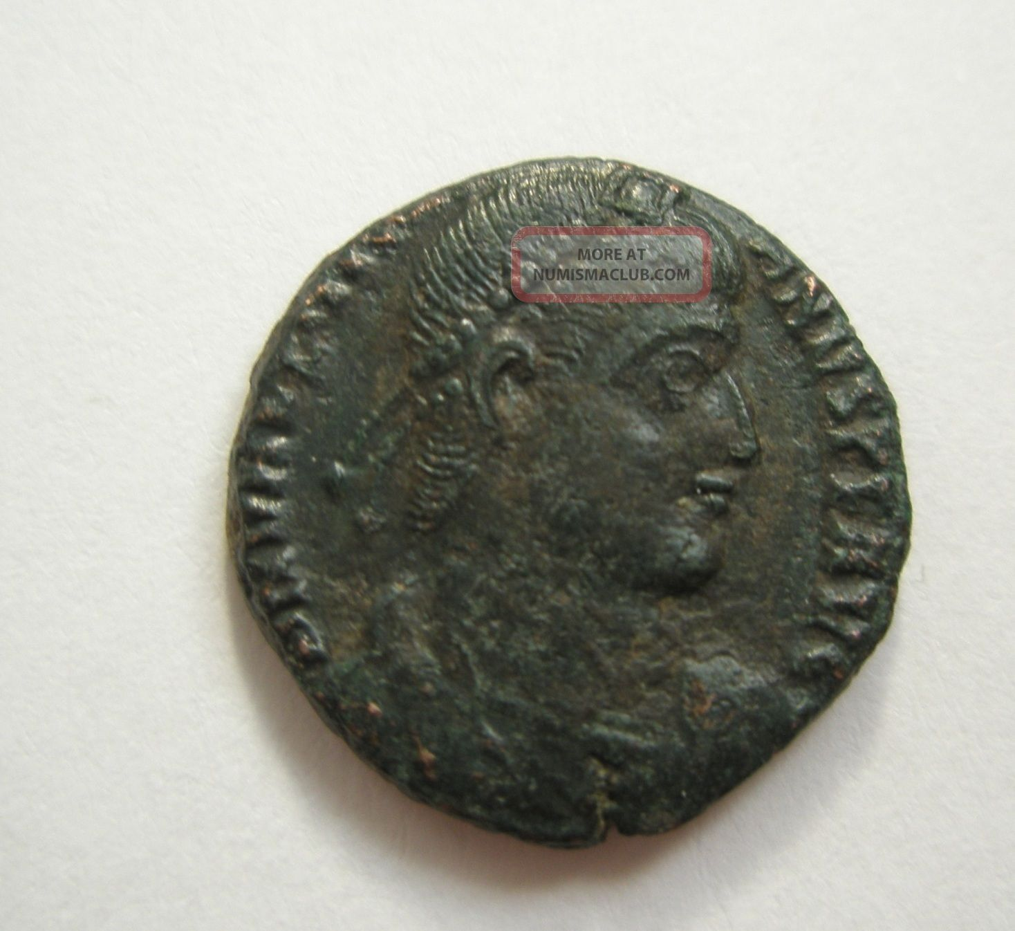 Ancient Rome Ae3 Valentinian Ii.  Securitas Victory Siscia Patina S37 Coins: Ancient photo