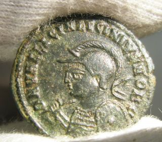 Ancient Rome Ae3 Licinius Ii.  Jupiter Victory Iovi Conservatori Scarce Ef S48 photo