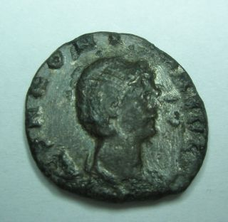 Ancient Rome Ae Antoninianus Salonina Gallienus Ivno Regina Patina S44 photo
