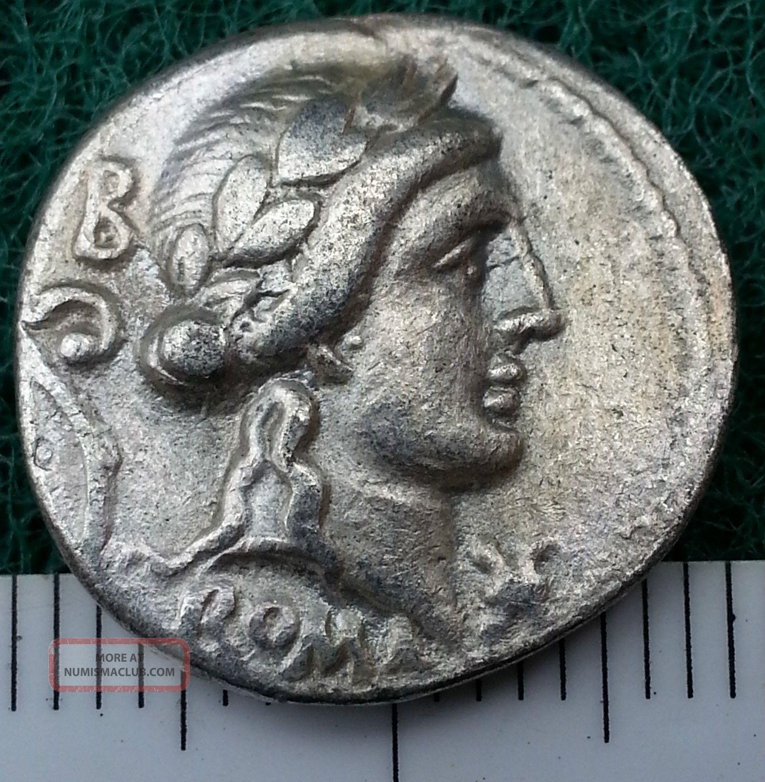 Silver Republican Coin To Identify,  Circa 300 - 27 Bc.  Rome,  Rare,  Very Fine Coins: Ancient photo
