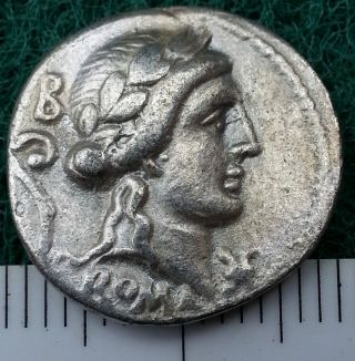 Silver Republican Coin To Identify,  Circa 300 - 27 Bc.  Rome,  Rare,  Very Fine photo