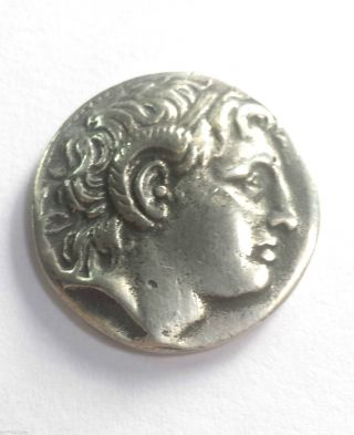 Silver Tetradrachms Of Lysimachus Of Thrace,  297 Bc photo