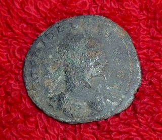 Roman Bronze Aurelianus - 270 - 275 Century Ad (302) photo