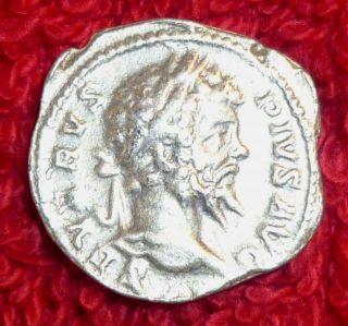 Roman Silver Denarius Septimius Severus 193 - 211 Ad (459) photo