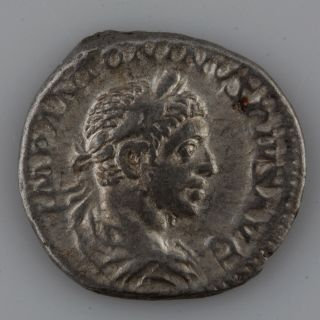 Ancient Rome Elagabalus Denarius (218 - 222 Ad) photo