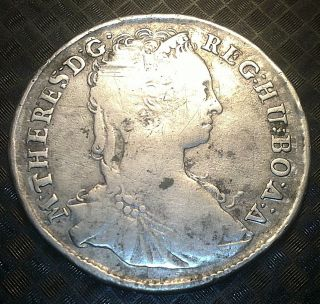 Real Deal,  Maria Theresa,  Silver Patrona,  1744,  Top Item,  Key Year photo