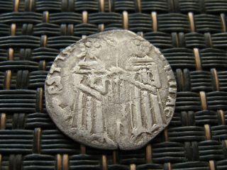 Medieval Serbia Stefan Uros Iv Dusan 1346 - 1355 Ad Medieval Silver Coin Denar photo