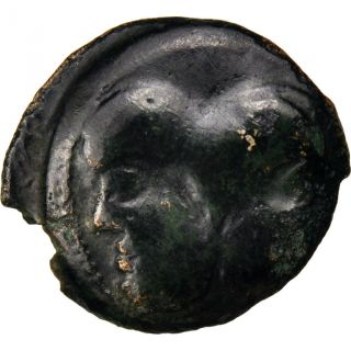Suessons (region Of Suessons),  Bronze With Janiform Head photo