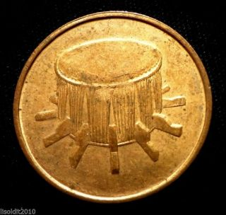 Malaysia,  2006 1 Sen,  Drum Flower Blossom Coin photo