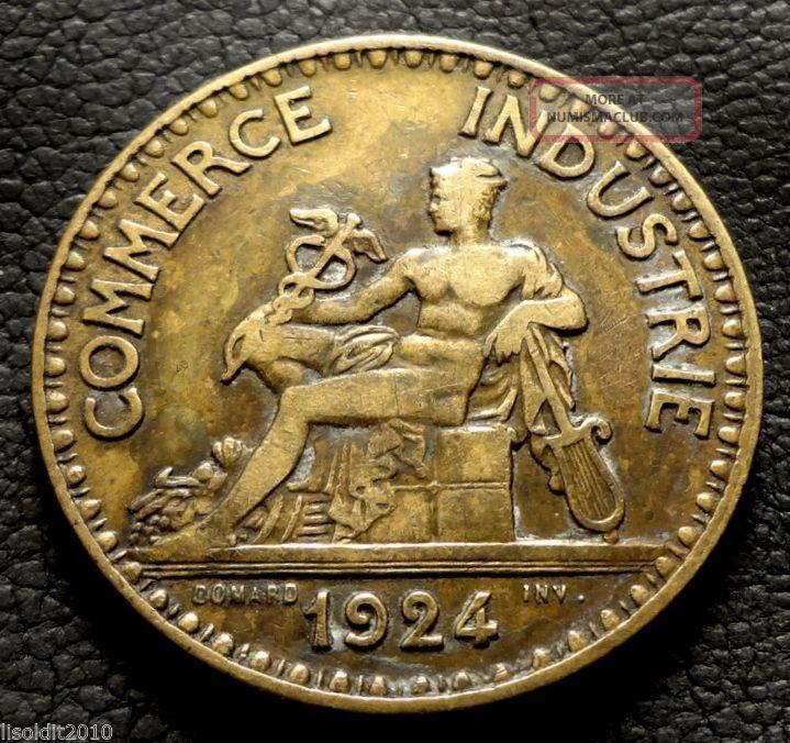 France 1924 2 Francs,