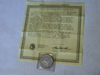 Ethopia 1972 5 Dollars