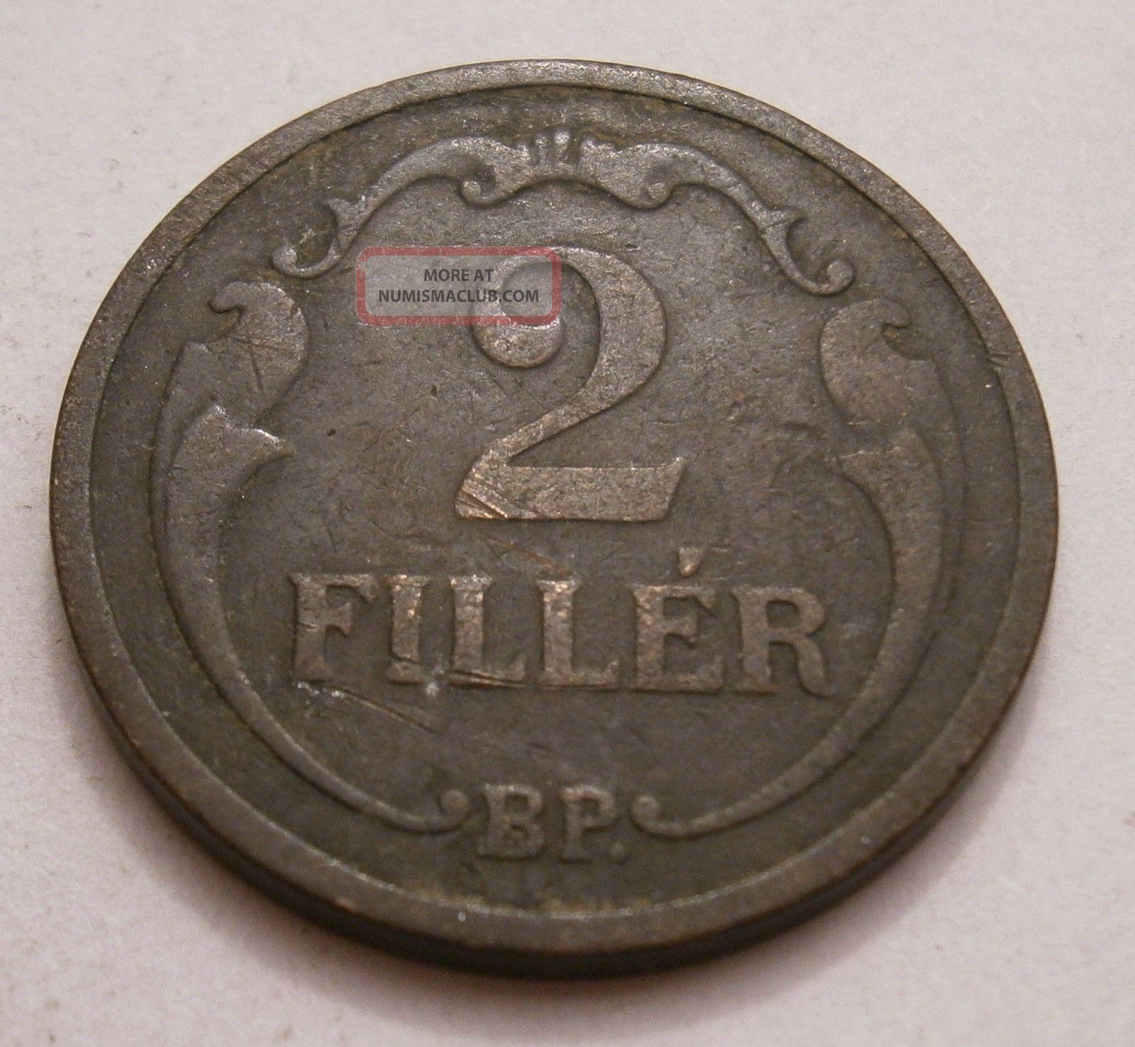 Hungary 2 Filler,  1926,  Km 506 Europe photo