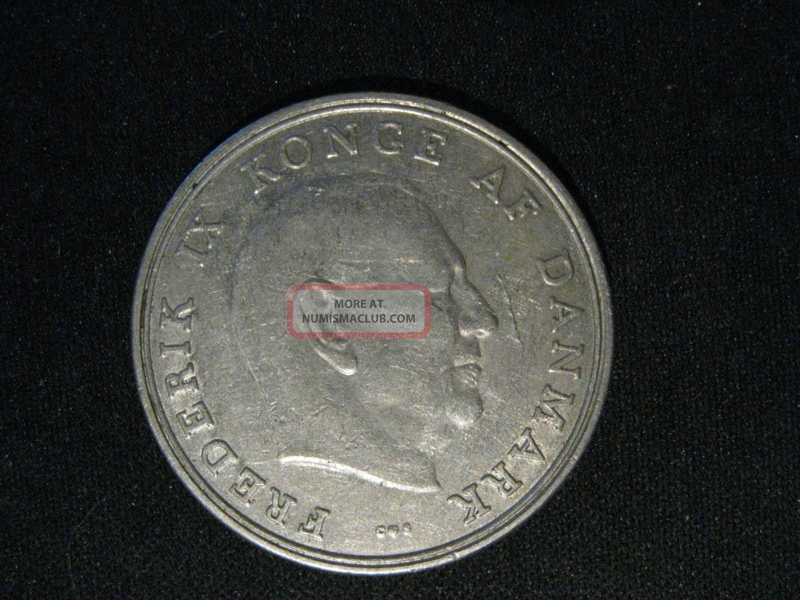 Denmark 5 Kroner,  1965 Europe photo