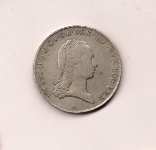 Austrian Netherlands 1796 A Kronenthaler photo