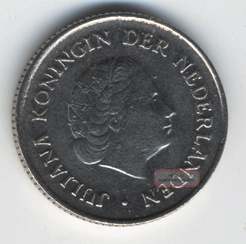Netherlands 25 Cents 1976 Europe photo