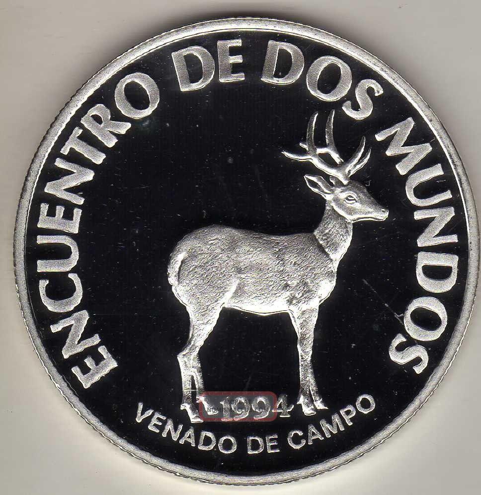 Uruguay 200 Pesos 1994,  Silver Unc. South America photo