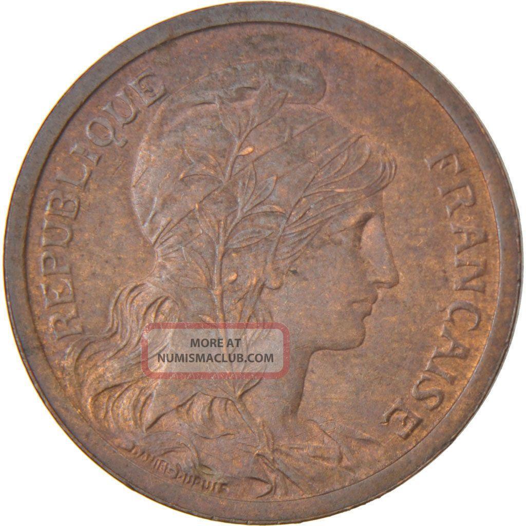 French Coin,  Iiième République,  2 Centimes Dupuis Europe photo