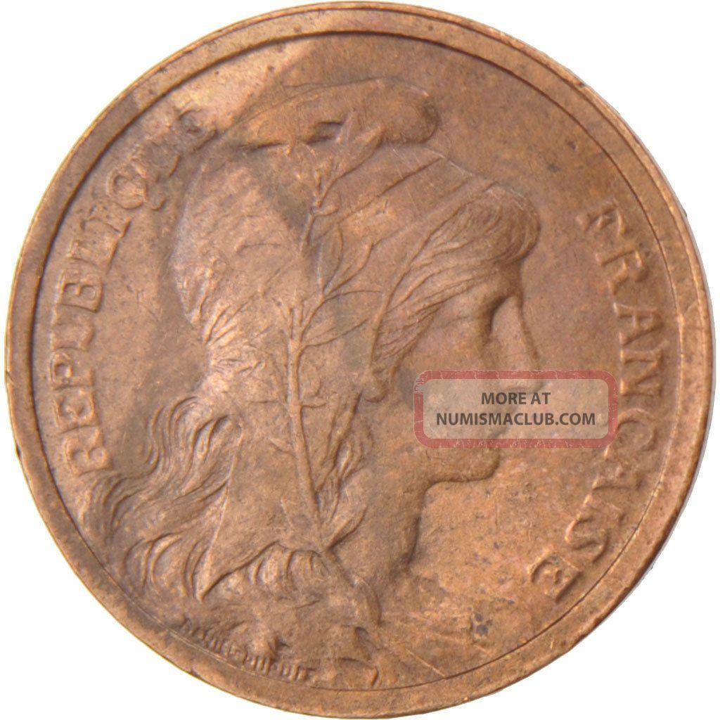 French Coin,  Iiième République,  1 Centime Dupuis Europe photo