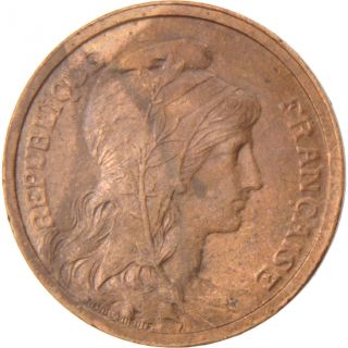 French Coin,  Iiième République,  1 Centime Dupuis photo