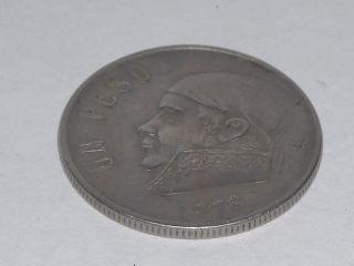 Un Peso,  1978 Open 8 Coin photo