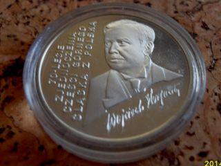 Poland 100 000 Zl Wojciech Korfanty 1992 Silver Coin photo