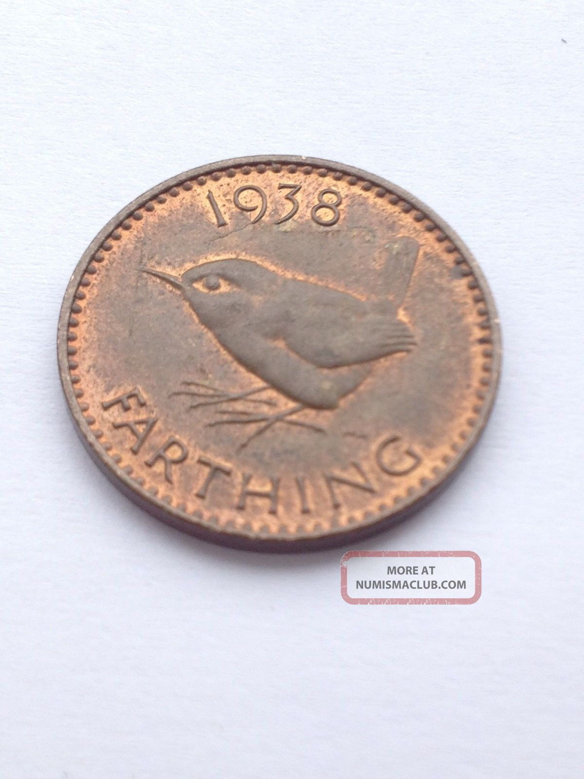1938 Farthing - - Check Out Photos UK (Great Britain) photo
