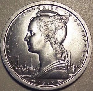 1948 Cameroon 2 Francs photo