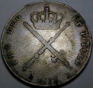 Bavaria (german State) 1 Thaler 1813 - Silver - Maximilian I.  Josef photo