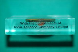 India 1969 10 Rupees Silver Unc India Tobacco Co Ltd Advertising Memorebilia photo