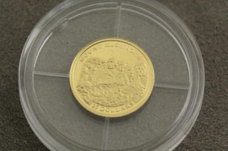 2001 Liberia $25.  00.  999 Gold Proof Coin Only 20,  000 Minted By American photo