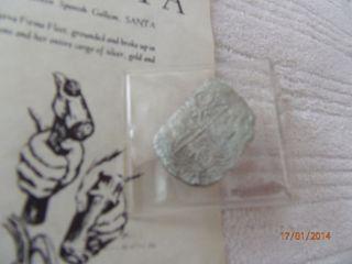 Santa Margarita (atocha Sistership) Coin/rare photo