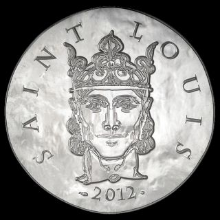 France 2012 Saint Louis 10 Euro Silver Proof Clovis To Republic Series photo