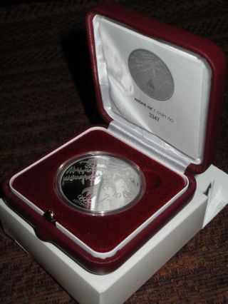 Estonia 10 Euro Silver Coin 2014 Xxii Winter Olympic Games In Sochi photo