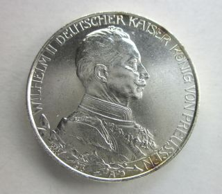 Prussia Silver 2 Marks 1913 photo