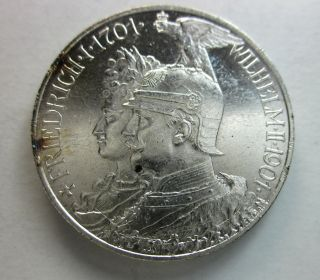 Prussia Silver 2 Marks 1901 photo
