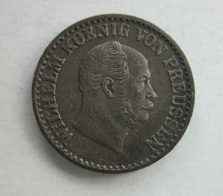 Prussia Silber Groschen 1872c photo