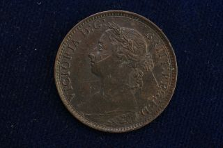 1891 Great Britain.  Farthing.  Grade. photo