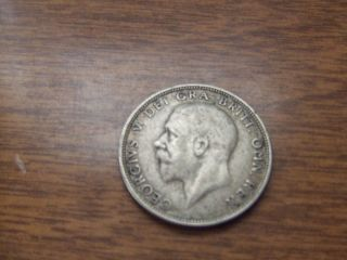 1935 Silver Florin Great Britain Coin photo